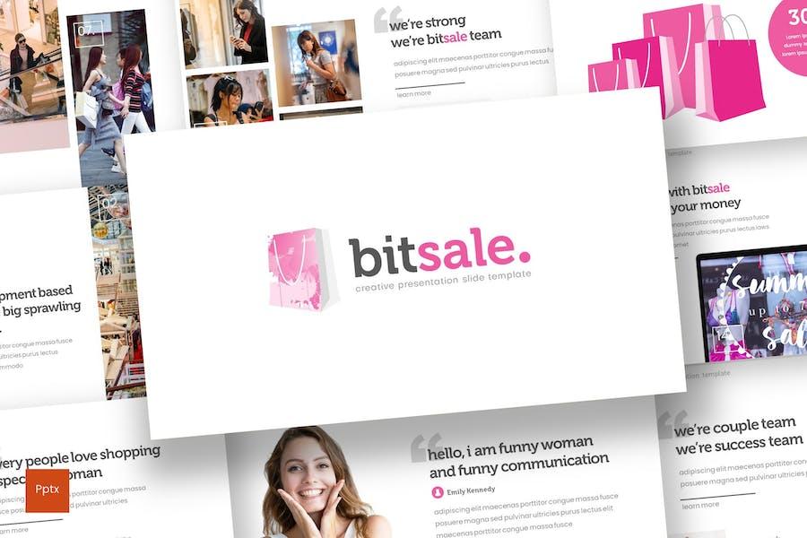 Bitsale - Powerpoint Template