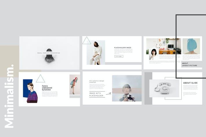 Cover Image For Minimalism Clean Powerpoint