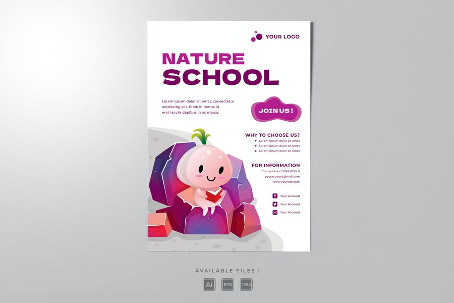 Kid School Poster