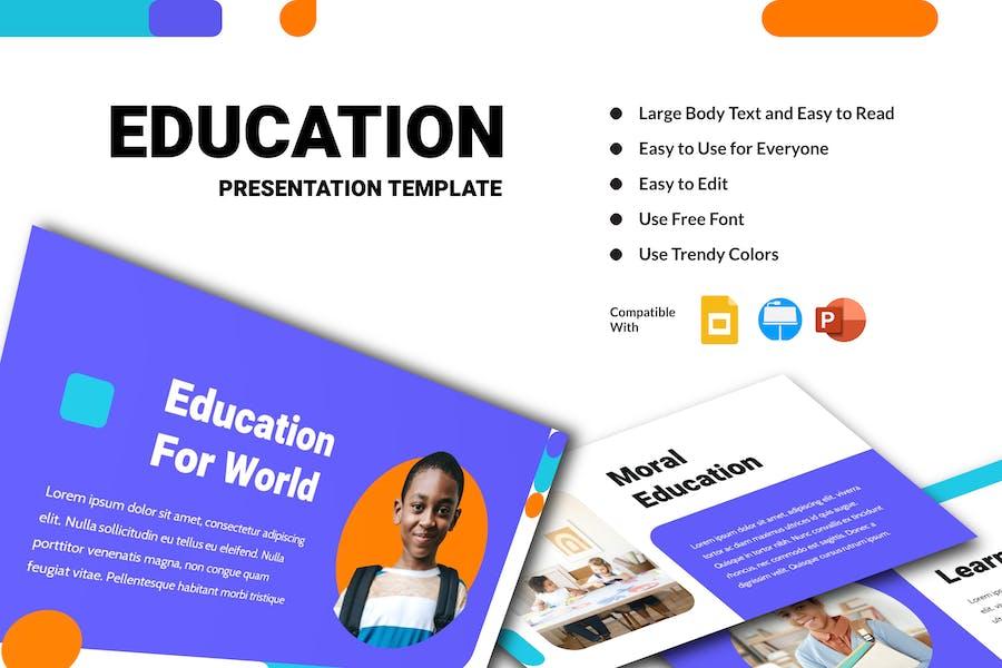 AQAL - Education Presentation Template