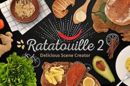 Ratatouille 2 — Extended Food Scene Creator