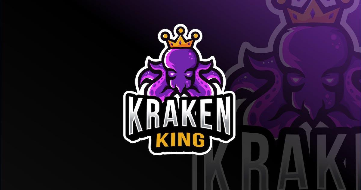 Download Kraken King Esport Logo Template by IanMikraz