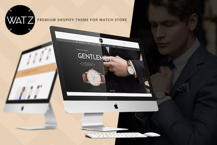 Thumbnail for Watch Store Responsive Shopify Theme - WATZ
