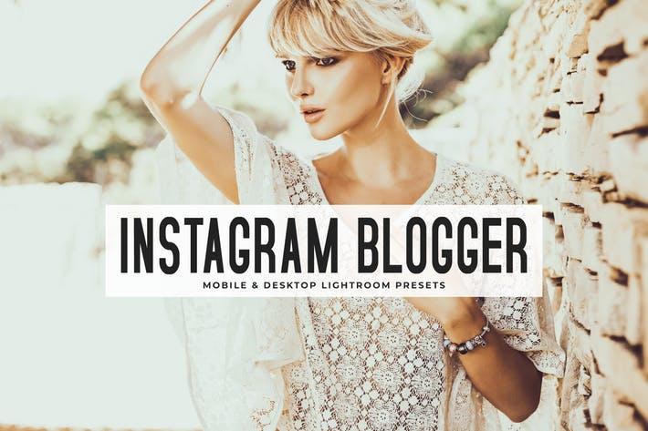 Thumbnail for Instagram Blogger Lightroom Presets Pack