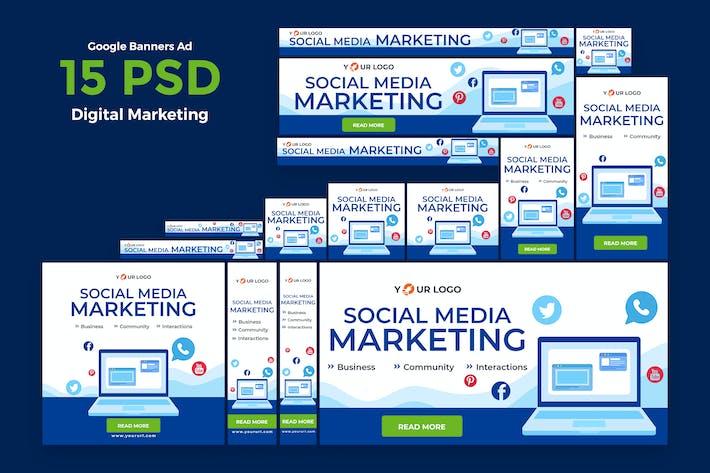 Digital Marketing Banners Ad