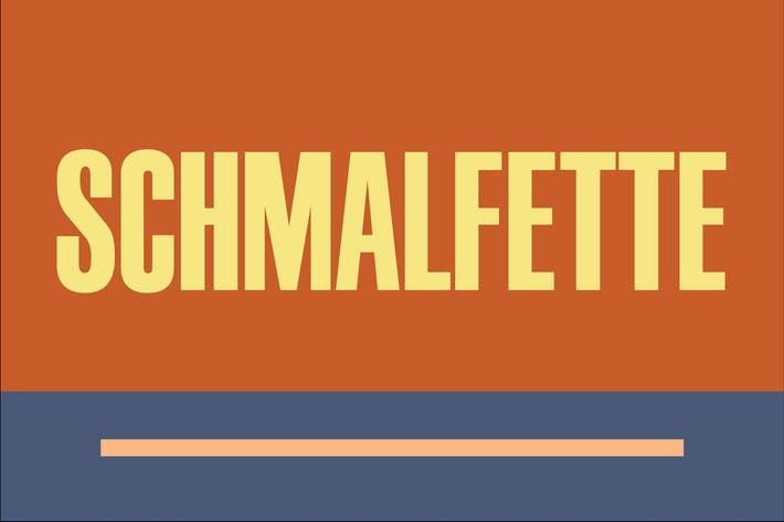Thumbnail for Schmalfette