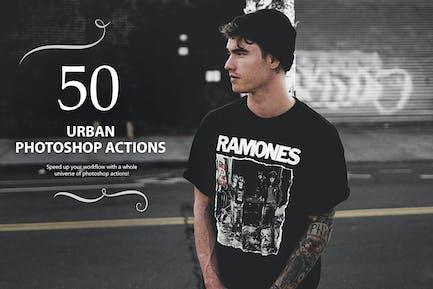 50 Urban Photoshop Actions
