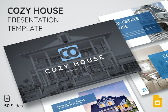 Thumbnail for Cozy House - Google Slide Presentation Template