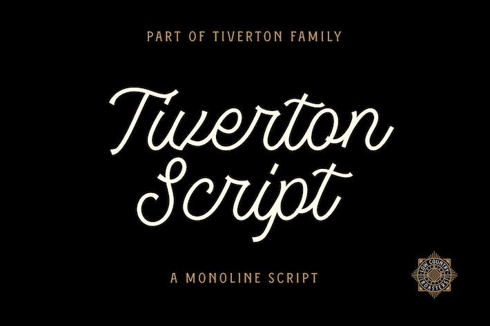 Thumbnail for Tiverton Script Light