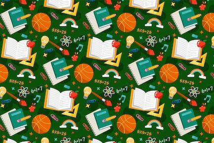 School Pattern Background