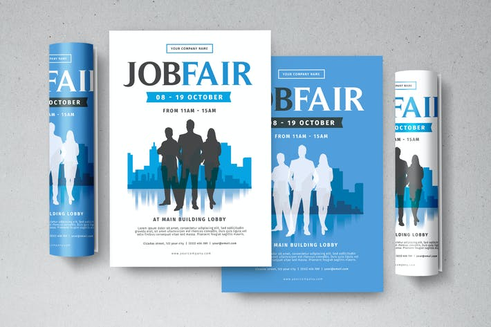 Thumbnail for Job Fair Flyer