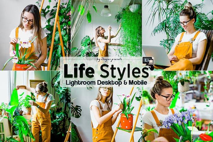 Thumbnail for Lifestyles Lightroom Presets Mobile Desktop
