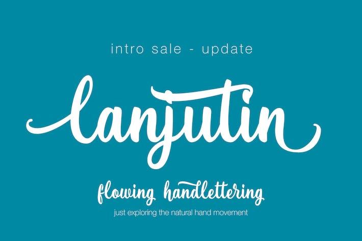 Thumbnail for Lanjutin Font Script