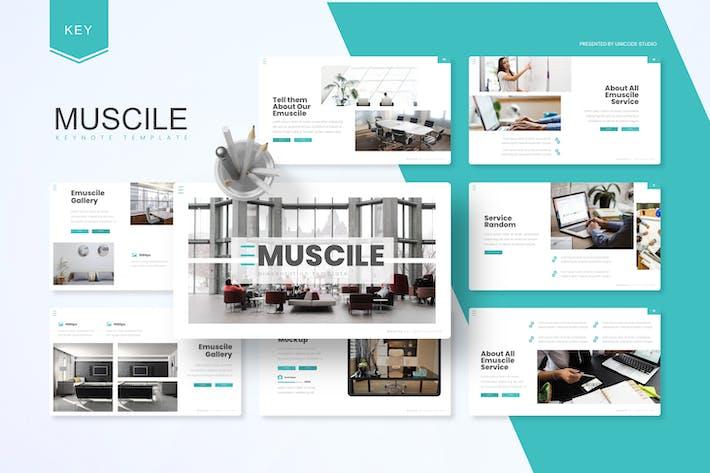 Thumbnail for Emuscile - Шаблон ключевых заметок бизнеса