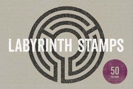 Labyrinth Stamps
