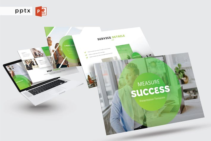 Thumbnail for MEASURE SUCCESS - Powerpoint  V296