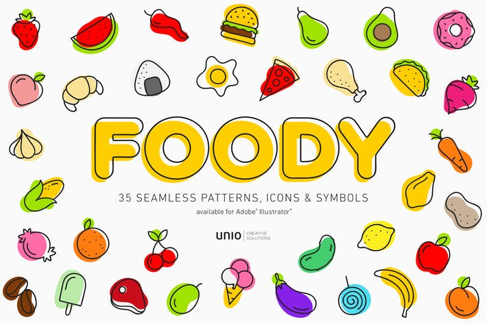 Cover Image For Foody Patterns