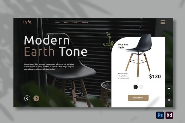 Furniture E-commerce | Hero Header