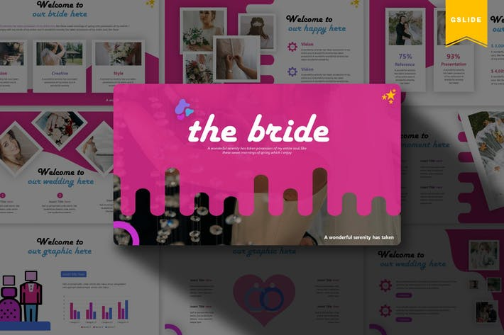 Thumbnail for The Bride | Google Slides Template