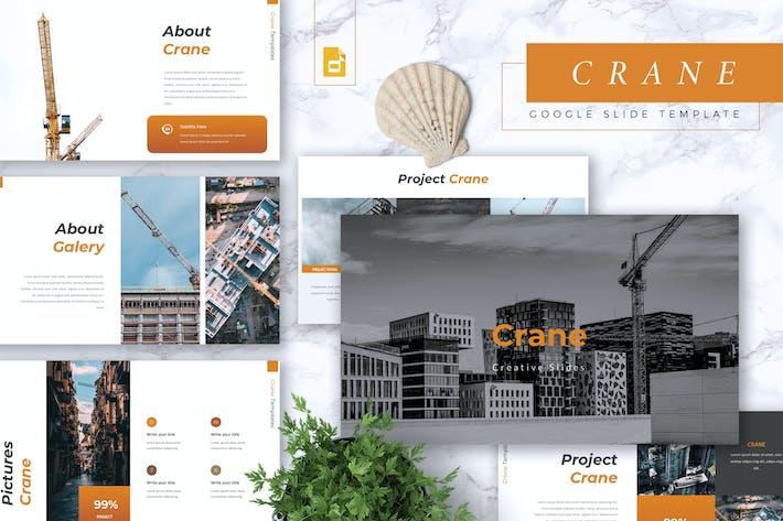 Thumbnail for CRANE - Construction Google Slides Template