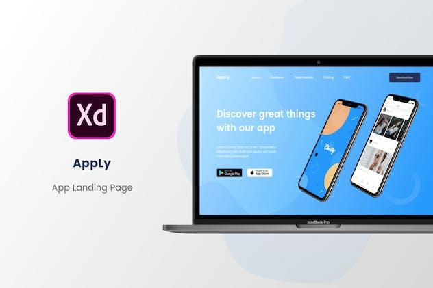 AppLy App Landing Page Website