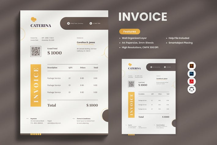 Thumbnail for Invoice Catering