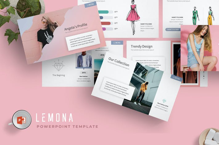Thumbnail for Lemona - Powerpoint Template