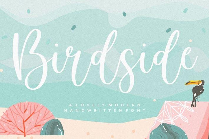 Thumbnail for Birdside YH - Wedding Script Font