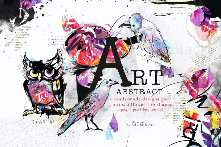 Thumbnail for Abstract art
