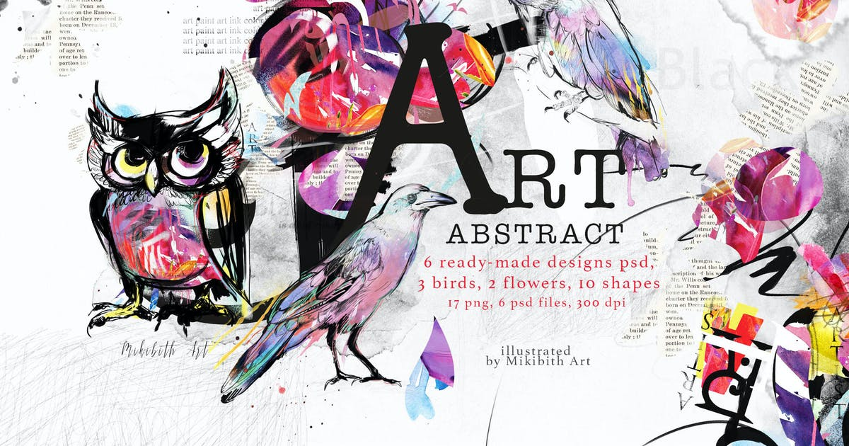 Download Abstract art by MikiBith