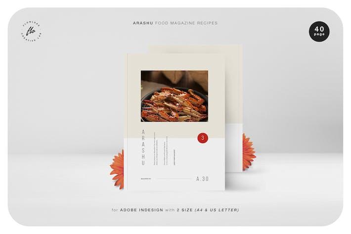 Thumbnail for Arashu Food Magazine Recipes