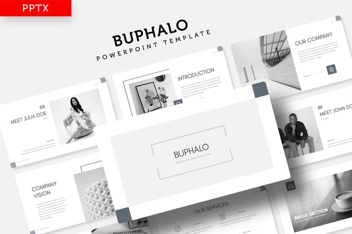 Thumbnail for Buphalo - Power Point Template