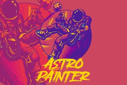 Astronout Painter