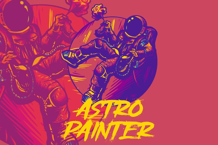 Astronout Maler
