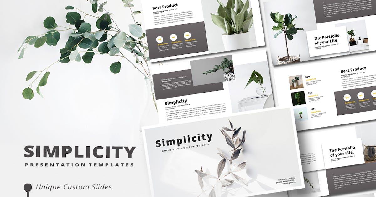 Download Simplicity - Keynote Template by alonkelakon
