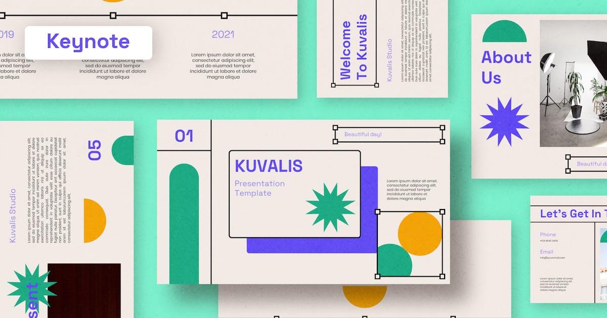 Download Kuvalis - Keynote Template by eztudio