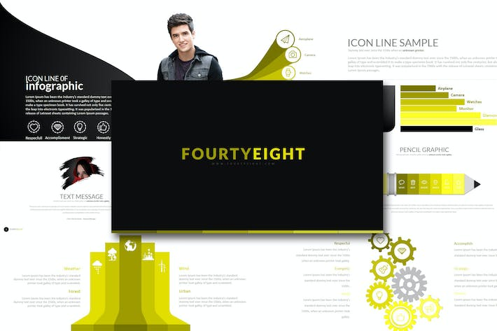 Thumbnail for Fourty 8 - Powerpoint Template