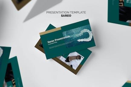 Sareo : Luxury Business Plan Google Slides