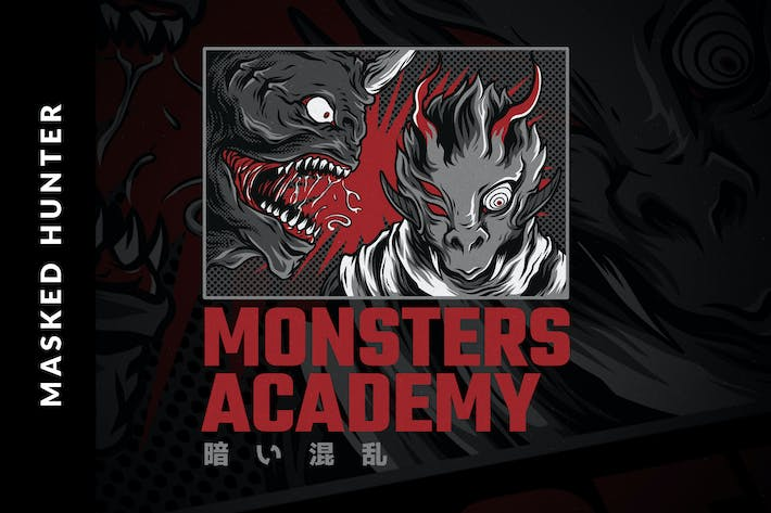 Thumbnail for Diseño de Monster Academy.