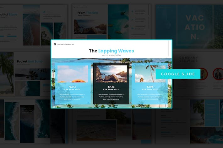 Thumbnail for Vacation - Google Slide Template