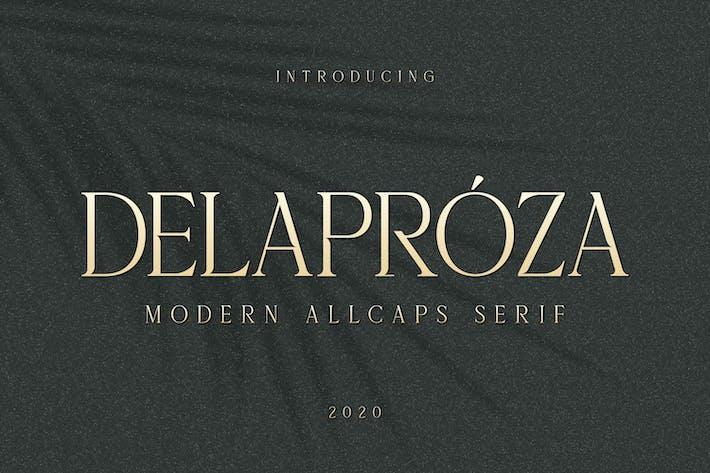 Thumbnail for Delaproza - Modern Con serifa