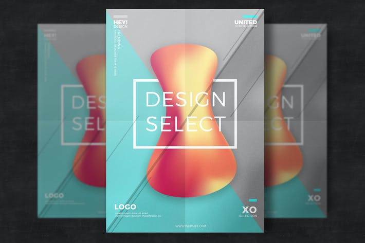 Thumbnail for Creative Abstract Flyer Template