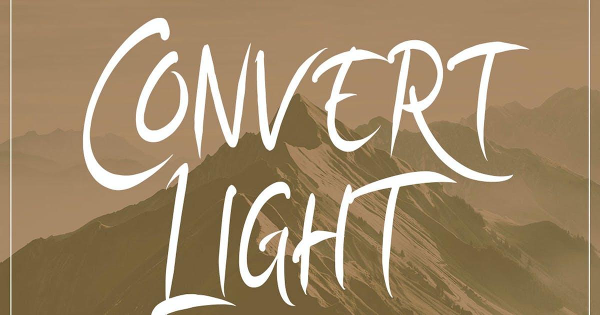 Download Convert Light Elegant Unique Amazing Script by putra_khan