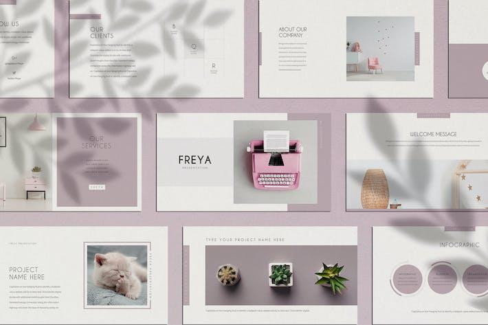 Freya Minimal Keynote Presentation Template