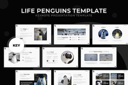 Life Penguin - Keynote Template