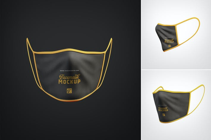 Anti Pollution Face Mask Mockups