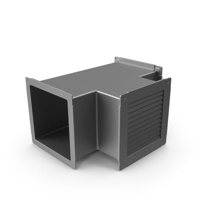 Air Duct With Vent