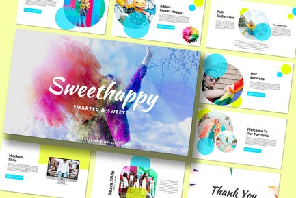 Sweet Happy - Powerpoint Template