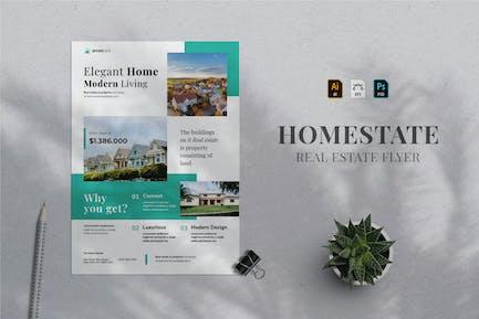Real Estate Flyer 12