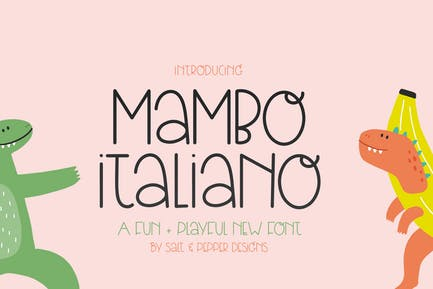 Mambo Italiano Font